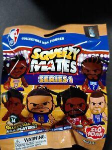 NBA SERIES 1 SQUEEZY MATES KEY CHAIN ZION, LEBRON,CURRY,KAWHI, HARDEN ? NEW