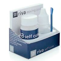SDI Riva self cure GIC restorative A2 15 grm powder+liquid !!