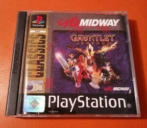 SONY PS1 GAME GAUNTLET LEGENDS PLAYSTATION PS2 PLAYSTATION CLASSICS 15+