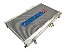 Koyo Aluminum Racing Radiator For Acura 94-01 Integra (Showa/Denso Fan)