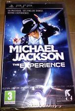 "JEU PSP ""MICHAEL JACKSON"" (The Experience) Simulation/Musique/danse NEUF BLISTER"