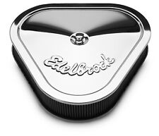 Edelbrock 1222 Pro-Flo Chrome Air Cleaner Assembly - 2.5x5.125x14.125x13.375""