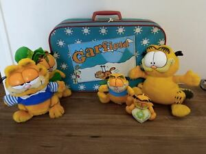 RARE Garfield figures and plush toys lot bundle