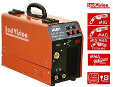 MIG MAG Schweißgerät Power MIG-250 PRO + E-Hand IGBT Inverter 250Amp. Fülldraht