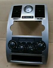 ☆2005-2007 Chrysler 300 Radio Climate Combo Trim Bezel w/ Clock & Vents☆