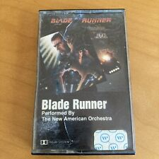 1982 Rare Blade Runner Soundtrack The new American Orchestra Cassette Vangelis