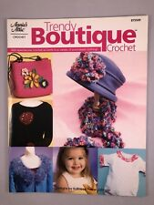 Trendy Boutique Crochet Pattern Book