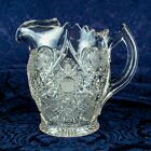 ANTIQUE 1888's Colonial Victorian Glass Swan Pitcher
