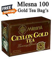 Mlesna Gold Premium 100 Tea bags Ceylon Pure best quality Sri Lankan Product
