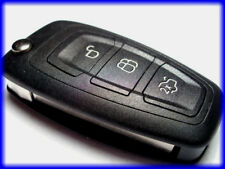 QUALITY 3 BUTTON FLIP KEY FOB CASE, FORD FOCUS MONDEO C/S-MAX TRANSIT CONNECT+++