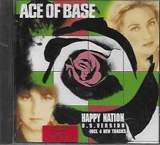 CD album: Ace of Base: Happy Nation. US Version. Mega. A1