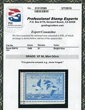 pj's #RW15 - MNH and XF grade 90 w/ PSE cert - Bottom L Corner Copy -