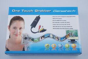 One Touch Vidéo Grabber Geniatech USB 2.0