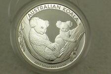 2011 Australian {1/2- Half Ounce} Silver Koala .50 Cent Coin 999.0