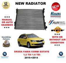 FOR SKODA FABIA COMBI ESTATE 1.2 TSi 1.6 TDi 2010>2014 NEW RADIATOR OE QUALITY