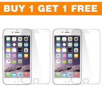 Buy 1 Get 1 Free  Tempered Glass Screen Protector Shield for Apple iPhone 6 & 6s