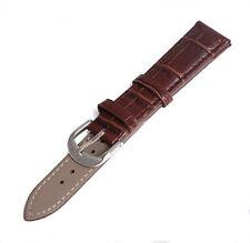 P Handmade Leather Watch Band Softness Leather Strap Wristband Striae Watchband