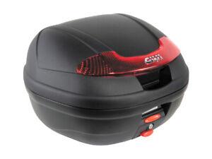 GIVI E340N TOP BOX CASE + 361F REAR RACK CARRIER + MM Yamaha XJR 1300 2007-2014