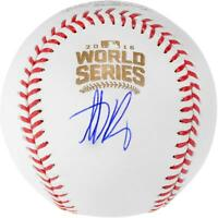 Anthony Rizzo Chicago Cubs Signed 2016 MLB World Series Baseball - Fanatics