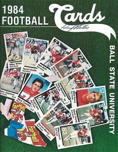 1984 Ball State Cardinals Football Media Guide Signed HC Dwight Wallace