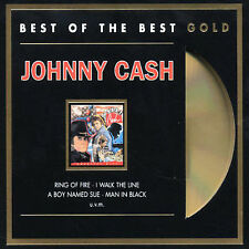 Greatest Hits Best of the Best-Johnny Cash Nov-2001 German IMPORT NEW bold CD