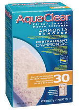 Hagen AQUACLEAR 30 AMMONIA REMOVER FILTER INSERT Aquarium Fish 4.3 oz