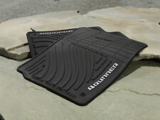 Toyota 4Runner 2010 - 2012 Black Rubber All Weather Mats Set - OEM NEW!
