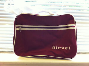 RED BEACH BAG BY NIRVEL RED HOLIDAY FOR CLOTH TOWELS MAKEUP COSMETICS SUN CREAM