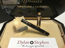 Parker Duofold Centennial limited edition Lucky 8 fountain pen NEW