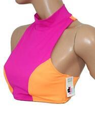 78609e75219e0 Victorias Secret The Black Add 2 Cups Push up Halter Bikini Top 34dd