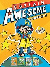 Captain Awesome 4-Books-in-1: Captain Awesome Takes a Dive; Captain Awesome, So