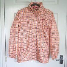 "REGATTA Girl's Polka Dot Mesh Lined Rain Jacket Concealed Hood Chest 32"" Age 14"