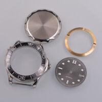 41mm sapphire Sterile Watch Case+dial fit-ETA 2824/2836 8215/8205 movement mens