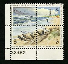 US Plate Blocks Stamps #1448-51 ~ 1972 CAPE HATTERAS 2c Plate Block MNH
