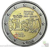 2 euros Malte 2016 - Ggantija - comportant le poinçon Monnaie de Paris - UNC