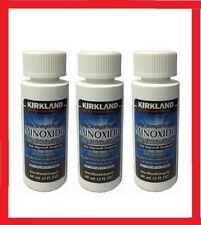Kirkland Minoxidil 5% crescimento cabelo masculino solução 3 meses de suprimento + Grátis conta-gotas