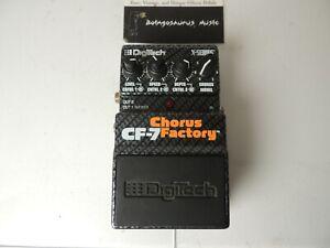 Digitech CF7 Chorus Factory Modeler Effects Pedal Free USA Shipping