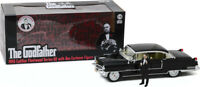 GREENLIGHT 13531 CADILLAC FLEETWOOD model car & figure THE GODFATHER 1972 1:18th