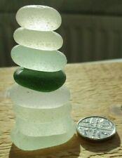 8 Stackers - Genuine English Seaham Sea Glass