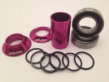 BMX Bottom Braket BB Colony Mid 22mm Purple