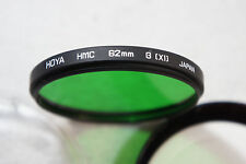 HOYA HMC 62MM G(X1) Green Filter Made in Japan Metal Lens Filter