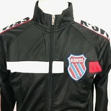 KSWISS Old Goods Vintage Style Mens Track Jacket Size SMALL NWOT
