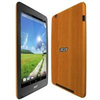 Skinomi Light Wood Skin+Clear Screen Protector For Acer Iconia One 8 (B1-810)