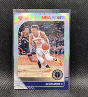 Kevin Knox II Silver Prizm #123 New York Knicks 2019-20 NBA Hoops Premium Stock