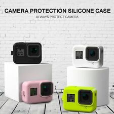 Silicone Case Tempered Glass Screen Protector Protective Lens Film Housing Cover