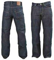 Men Denim Jeans Slim Fit Knitted DIVALO® Jean Made DuPont™ Motorcycle Pants TM