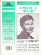 MYSTERY SCENE #35 - 1992 Fanzine - Donald Hamilton, Ed McBain on writing