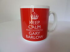 Keep Calm and Listen To Gary Barlow Mug Cup Gift In Carry On Style Gift Music