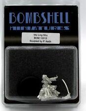 Bombshell BOM10015 Wu Ling Shu (Babes) Female Warrior Mongol Princess Hero NIB