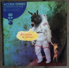 "Access Denied-Animals dans Space 12"" LP (KDB, 2008) Techno 4 track"
